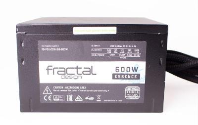 Fractal Design 600W Essence FD-PSU-ES1B-S19-600W