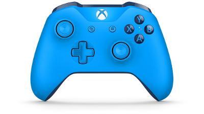 Microsoft Xbox One S Controller modrý