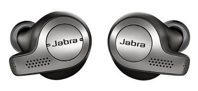 Jabra Elite 65t titanově černá sluchátka s mikrofónem, bluetooth