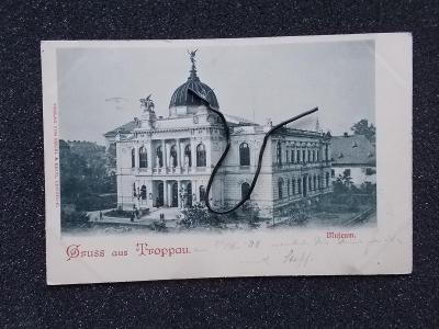 Slezsko Opava Troppau muzeum