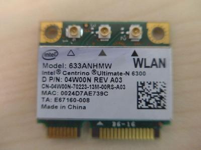 Intel Centrino Dell Ultimate N-6300 WLAN Card 633ANHMW 4W00N