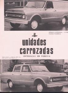 Chevrolet - Furgon Integral