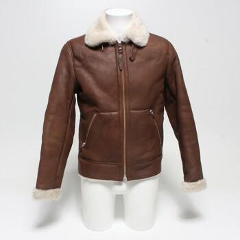 Pánská kožená bunda Schott LCB100, vel. S
