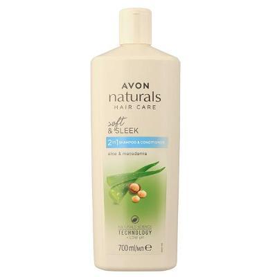 Šampon a kondicionér 2 v 1 s aloe a makadamovým olejem