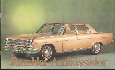 IKA Renault Rambler Ambassador, Classic a Crocc Country
