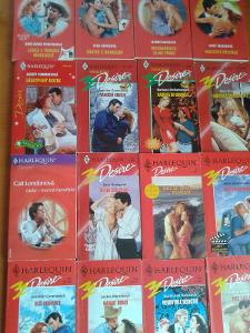 16 x HARLEQUIN DESIRE pestré romantické čtení za 1 Kč !!!