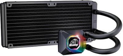 Akasa Venom R20 RGB, vodni chlazeni CPU, RGB podsviceni, nekompletni p