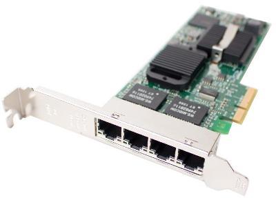 Síťová karta Intel Pro 1000 Quad Port CPU-D42543