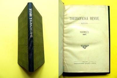 Theosofická revue (Lotus) Blavatská Steiner Schuré Eckhart (1907)