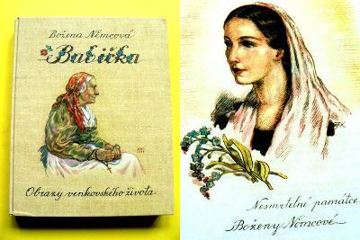 Božena Němcová Babička Ilustrace Kvěchová (2007)