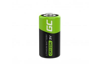 Baterie Lithium Green Cell CR123A 3V 1400mAh Battery