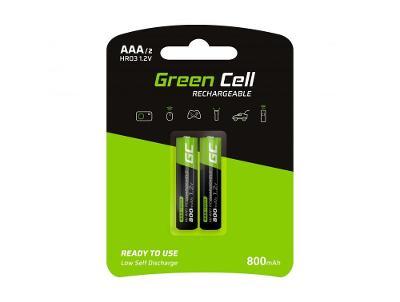Nabíjecí baterie 2x AAA HR03 Batteries 800mAh