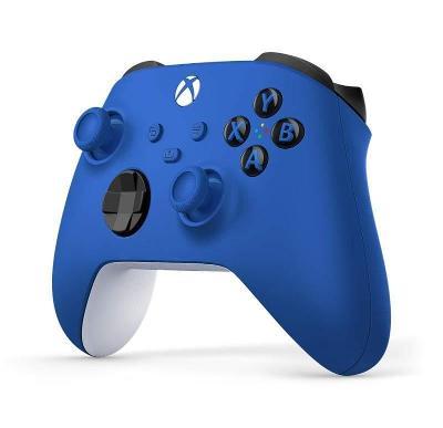 Xbox Shock Blue ovladač modrý