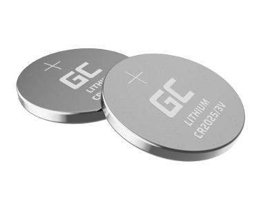 Baterie 5x Lithium Green Cell CR2025 3V 160mAh