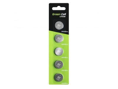 Baterie 5x Lithium Green Cell CR1620 3V 70mAh