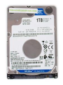 Western Digital Blue HDD 1 TB 5400 RPM