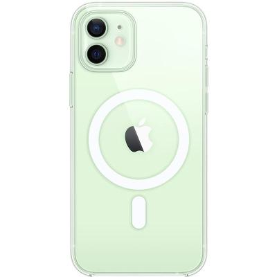 Kryt na mobil Apple Clear Case s MagSafe pro iPhone 12 a 12 Pro (MHLM3