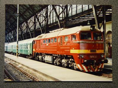 Lokomotiva T 679.1066, Praha hl.n. 26.5.1985