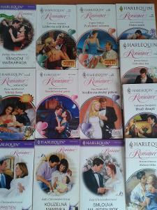 13 x HARLEQUIN ROMANCE svatební, coutry, vánoční.... za 1 Kč !!!