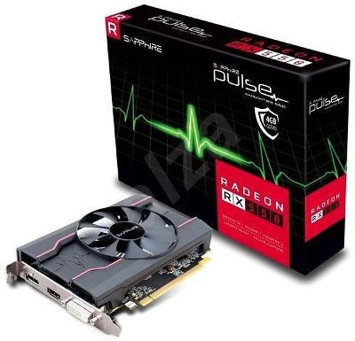 Nefunkční a pouze pro podnikatele: SAPPHIRE PULSE Radeon RX 550 4G OC