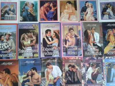 24 x LOVE STORY + PIRÁTOVA NEVĚSTA , romantické čtení... za 1 Kč !!!