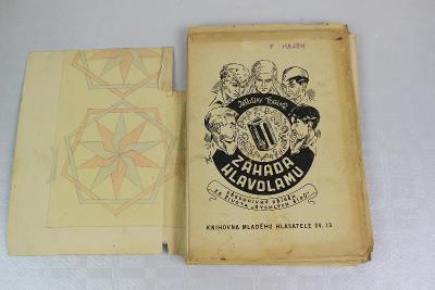 FOGLAR - FISCHER - ZÁHADA HLAVOLAMU starožitná kniha - POZOR vzácné !!