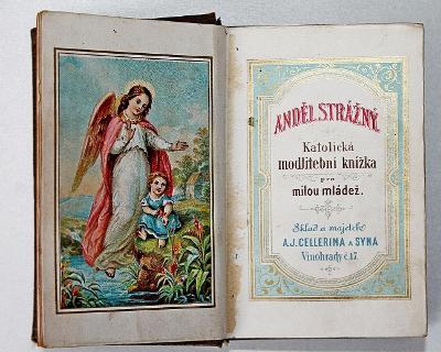 Anděl Strážný - Katolická modlitební knížka  (o5)
