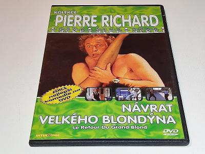 NÁVRAT VELKÉHO BLONDÝNA : P. RICHARD / NA DVD JEN PÁR JEMNÝCH ŠKRÁBEK
