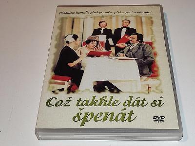 ČOŽ TAKHLE DÁT SI ŠPENÁT / DVD NEŠKRÁBLÉ