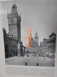Praha a Říčany 1898