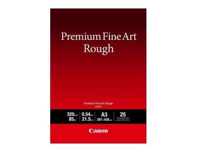 Canon fotopapír Premium FineArt Rough A3 25 listů