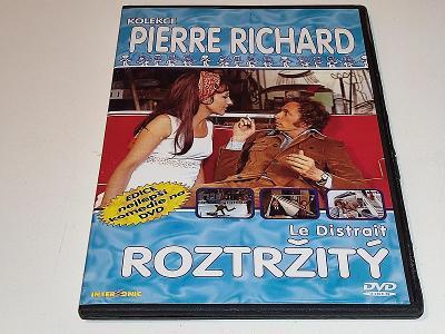 ROZTRŽITÝ : PIERRE RICHARD / NA DVD JEN PÁR JEMNÝCH ŠKRÁBEK