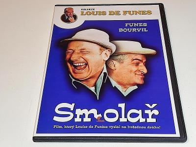 SMOLAŘ : FUNES - BOURVIL / JEN PÁR JEMNÝCH ŠKRÁBEK NA DVD