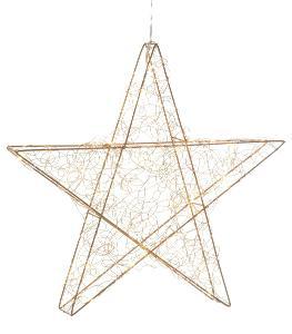 Hvězda s LED osvětlením 40 cm (15857516) G594