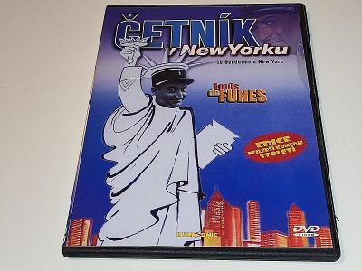 ČETNÍK V NEW YORKU - LOUIS DE FUNES / PÁR JEMNÝCH ŠKRÁBEK NA DVD