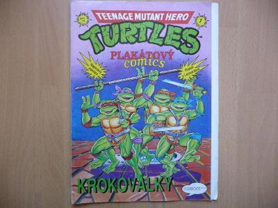 Teenage Mutant Hero Turtles - Plakátový comics - číslo 1 z roku 1992