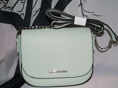 Kabelka crossbody , krásná nová   - pastelově zelená kabelka