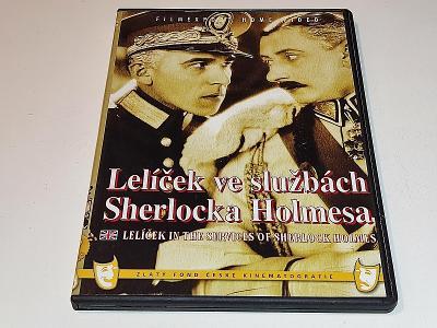 LELÍČEK VE SLUŽBÁCH SHERLOCKA HOLMESA  / DVD NEŠKRÁBLÉ
