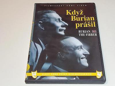 KDYŽ BURIAN PRÁŠIL  / DVD NEŠKRÁBLÉ