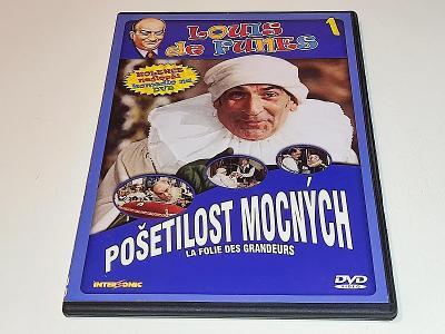 POŠETILOST MOCNÝCH - LOUIS DE FUNES / DVD NEŠKRÁBLÉ