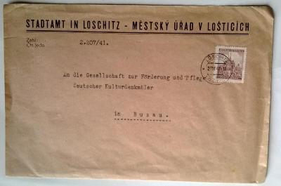 Protektorát, 1941, Loštice - Bouzov