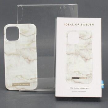 Kryt na iPhone Ideal of Sweden bílozlatý