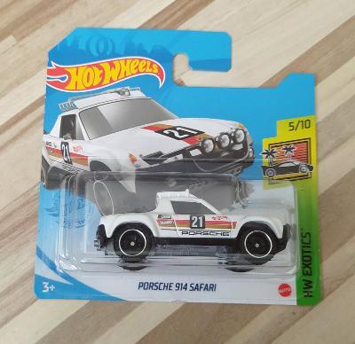 Porsche 914 Safari - Hot Wheels