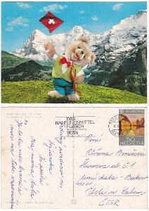 Švýcarsko s medvídkem
