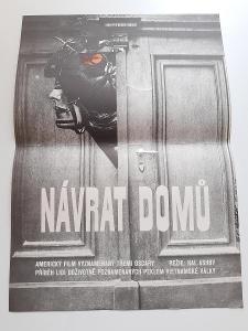 orig. filmovy plakat z kina A3 NAVRAT DOMU