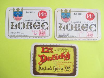 sběratelství - pivní etikety