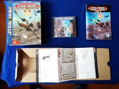 PC - STAR WARS ROGUE SQUADRON 3D - BIG BOX (retro 1994) Top