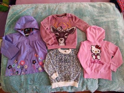 Balík oblečení - holka - letní, vel.92