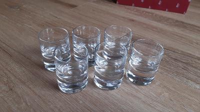 Whisky set sklenička na destilát - Moser (prodej starožitností a skla)