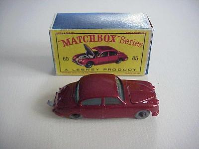 Matchbox RW Nr. 65 JAGUAR 3,8 SEDAN + krabička